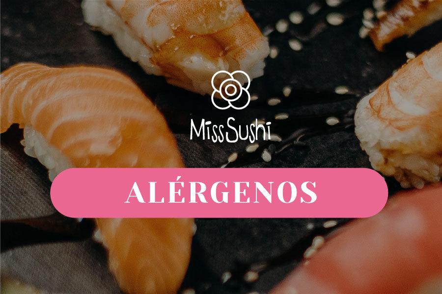 Alérgenos Miss Sushi