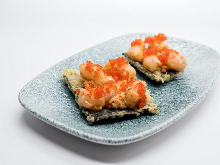 Alga nori, en nuestro crujiente de alga nori de Miss Sushi