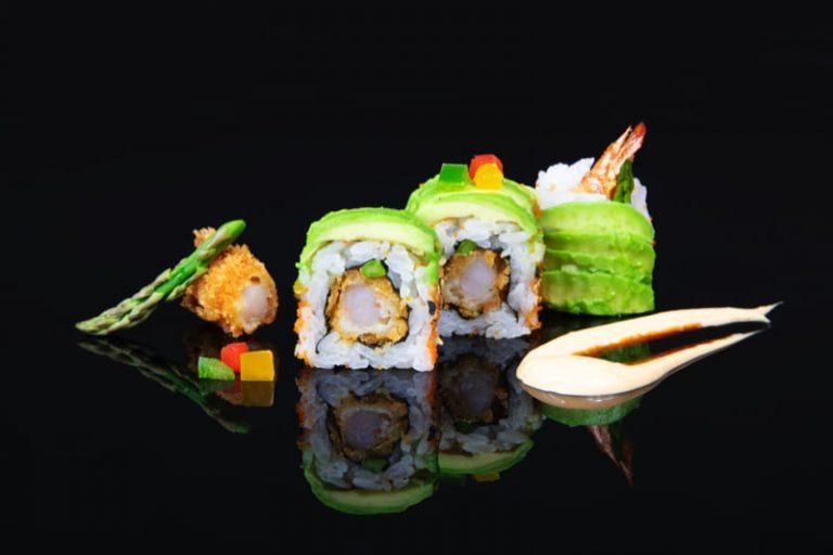 Alga nori, también en el Dragón de arroz de Miss Sushi