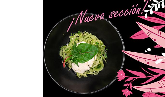 Si eres vegano, vegetariano o simplemente te gusta cuidarte, descubre nuestros más de 20 platos 100% vegetales y disfruta de la fusión de sabores de la más original comida japonesa.