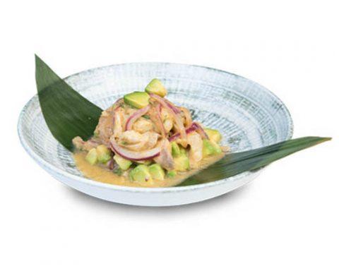 Ceviche de corbina a la minute, en Miss Sushi