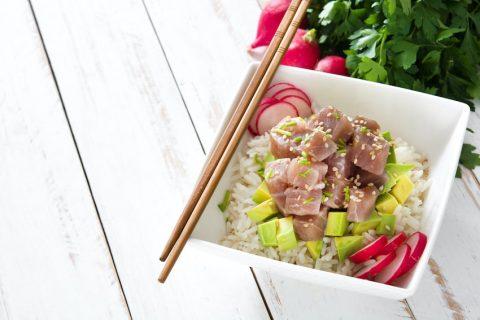 Comer sushi durante el embarazo