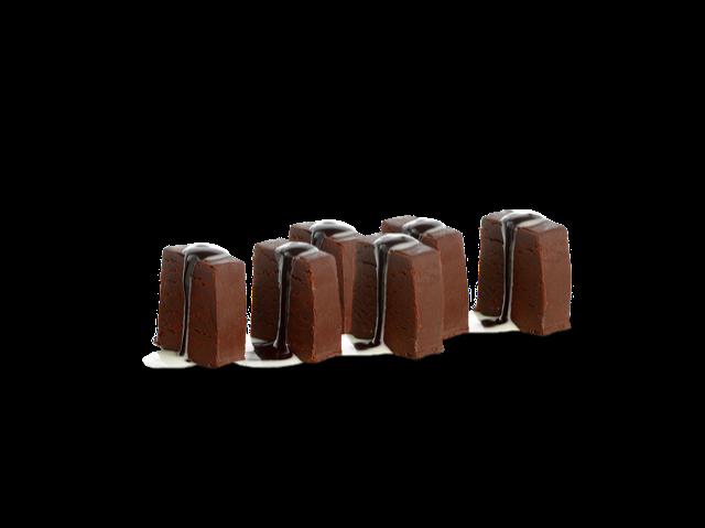 Dados de chocolate en Miss Sushi