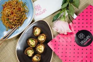 Celebra el amor en Miss Sushi