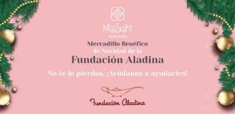 Fundación Aladina y Miss Sushi