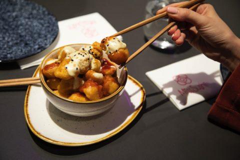 Japobravas de Miss Sushi, con wasabi