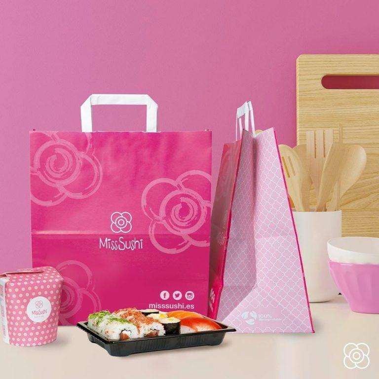 Miss Sushsi, el japonés deliveryTake Away en Barceloneta