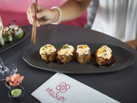 Tempura perfecta, hecha en Miss Sushi