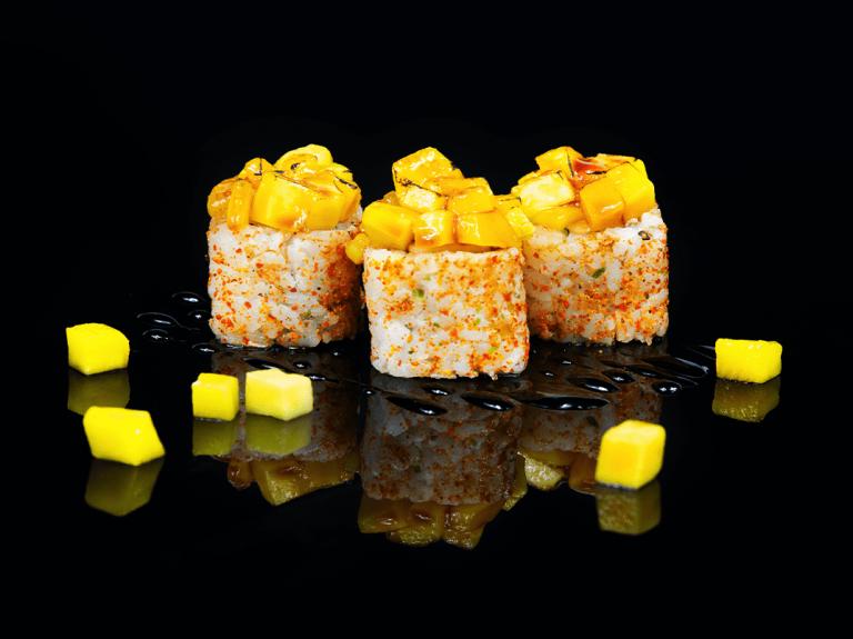 Maki de foie y Mango, de Miss Sushi