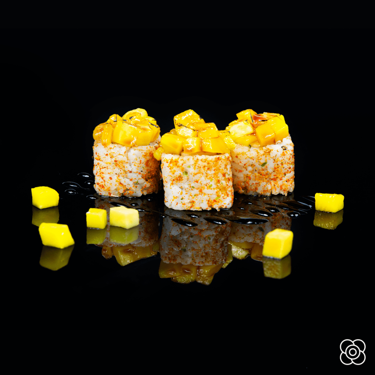 Maki de foie & Mango, de Miss Sushi