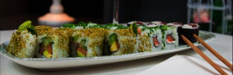 Makis o california rolls en Miss Sushi