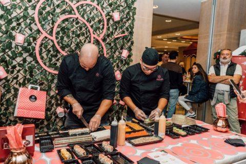 El mercadillo de la Fundación Aladina y Miss Sushi