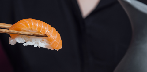 Nigiris en Miss Sushi