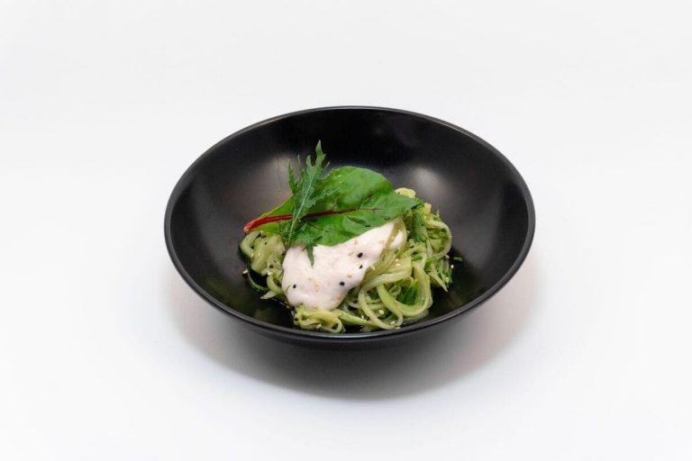 Noodles fríos de pepino, de Miss Sushi