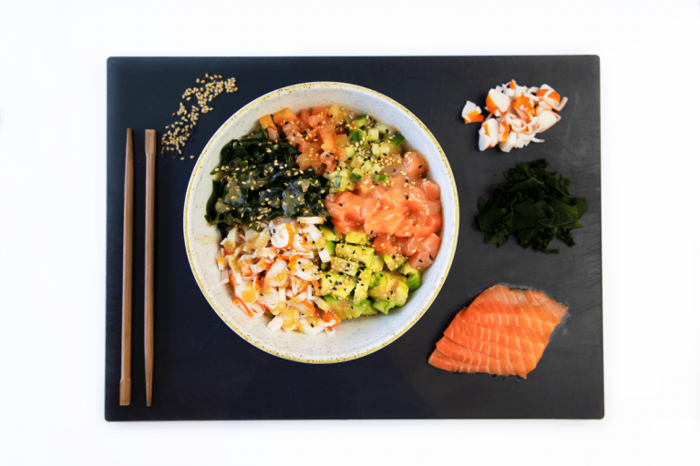 Poke de salmón de Miss Sushi