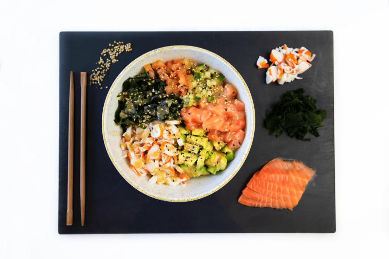 Un poke bowl de Miss Sushi