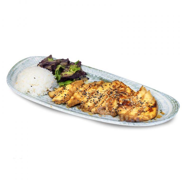 Pollo teriyaki, una receta