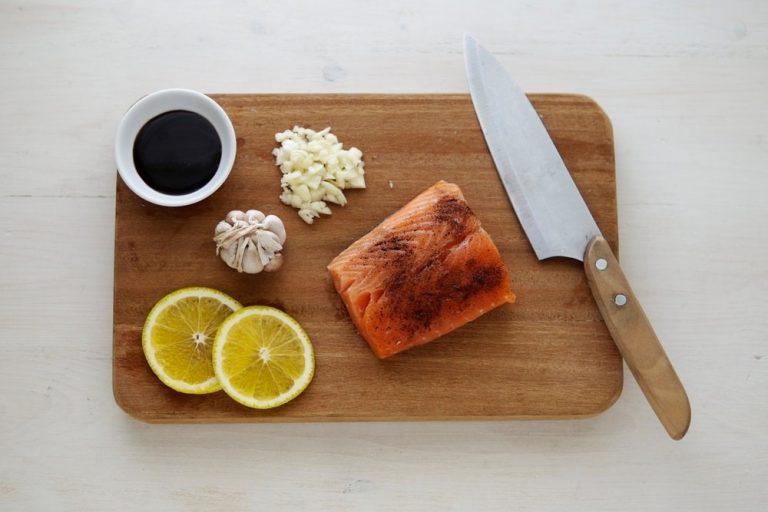 Salmón noruego en Miss Sushi