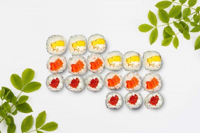 Sushi, fantástica idea para adelgazar