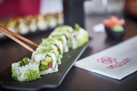 Sushi sin gluten en Miss Sushi